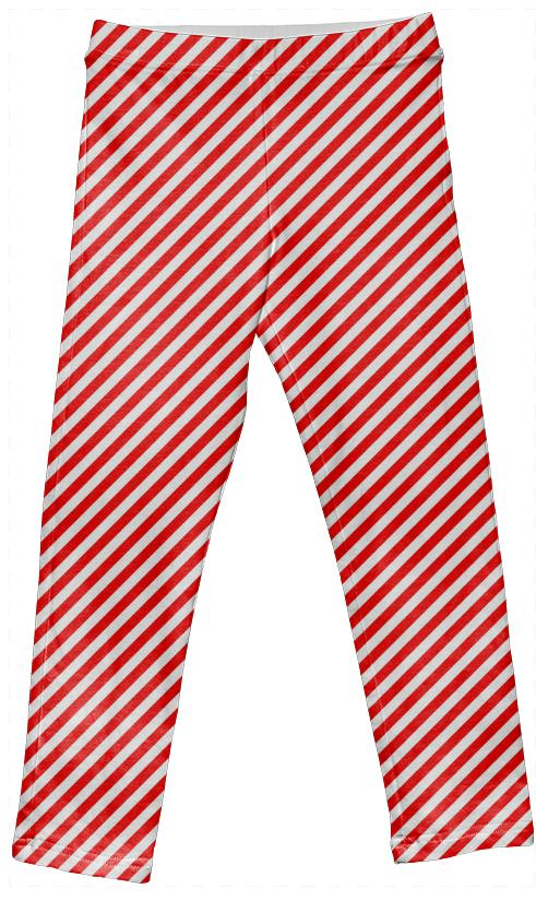 PAOM, Print All Over Me, digital print, design, fashion, style, collaboration, paomkids, Kids Leggings, Kids-Leggings, KidsLeggings, Red, White, Small, Stripe, autumn winter spring summer, unisex, Spandex, Kids