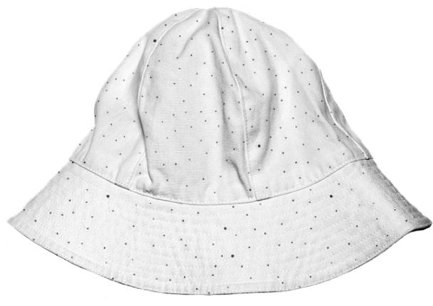 Black Tiny Dot Bucket Hat