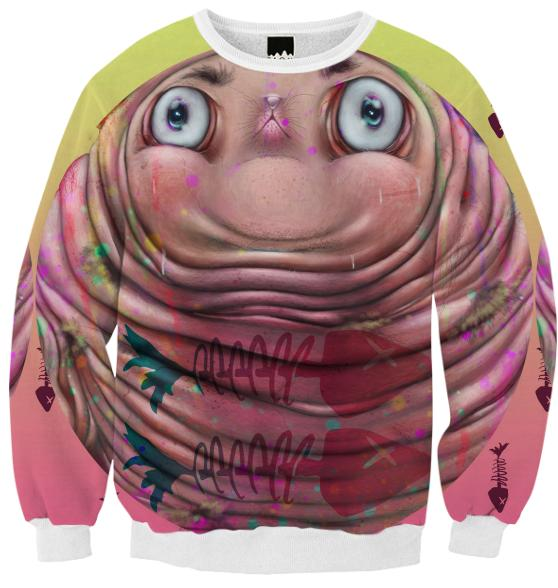 Goiter Cat Sweatshirt