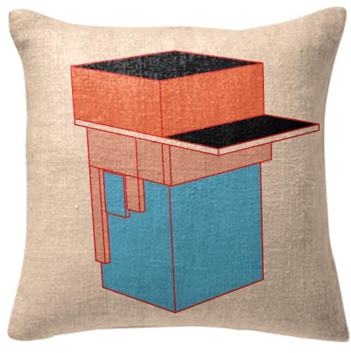 Box Dude Pillow