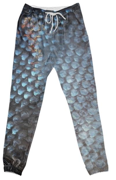 salmon scale pants