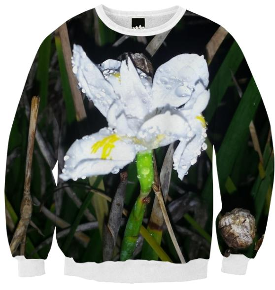 droplet flower sweater