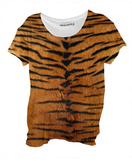 Tiger Strips Fur