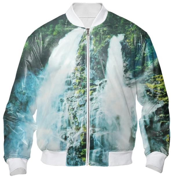 Waterfall Bomber Jacket