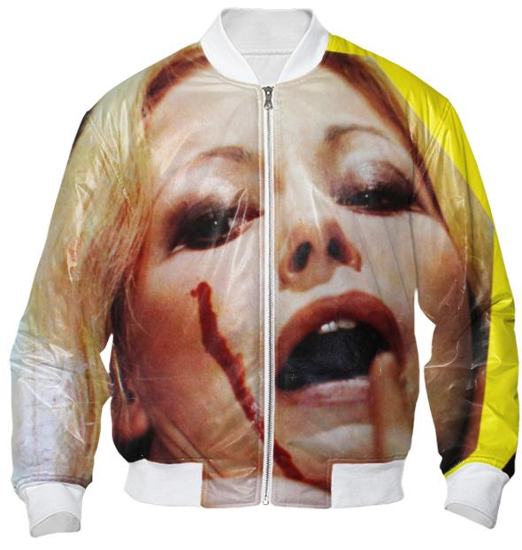 Scream Queen Bomber Jacket