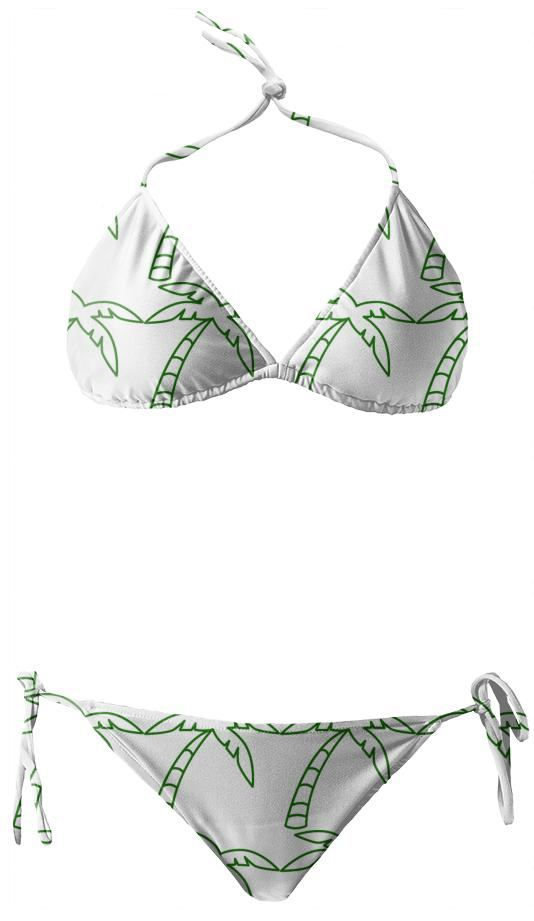 Lone Palm Inverted Bikini