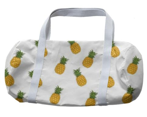 Pineapple White Duffle