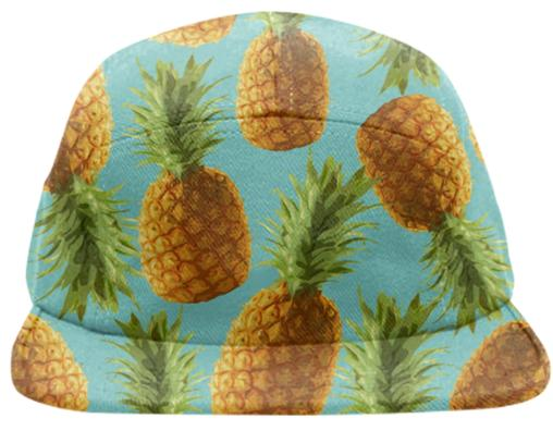 Pineapple Blue Hat