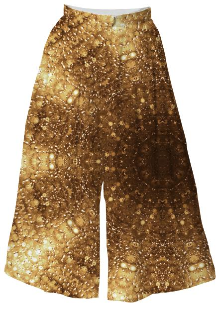 Golden Bokeh Light Culottes