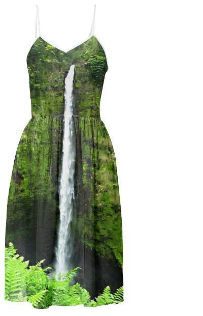 Akaka Falls Hawaii Sundress
