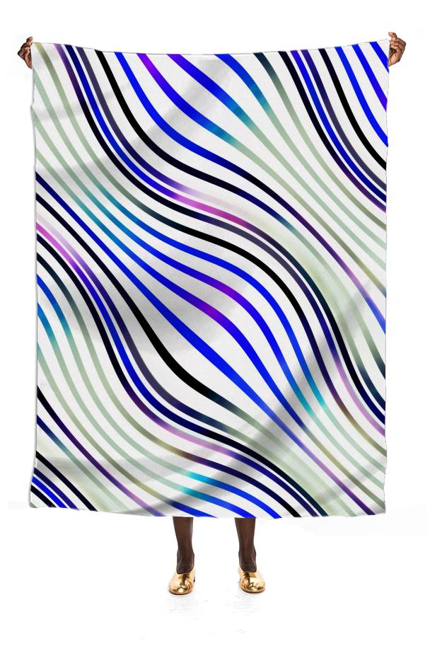 Optical illusions geometric pattern 1 blue purple and white