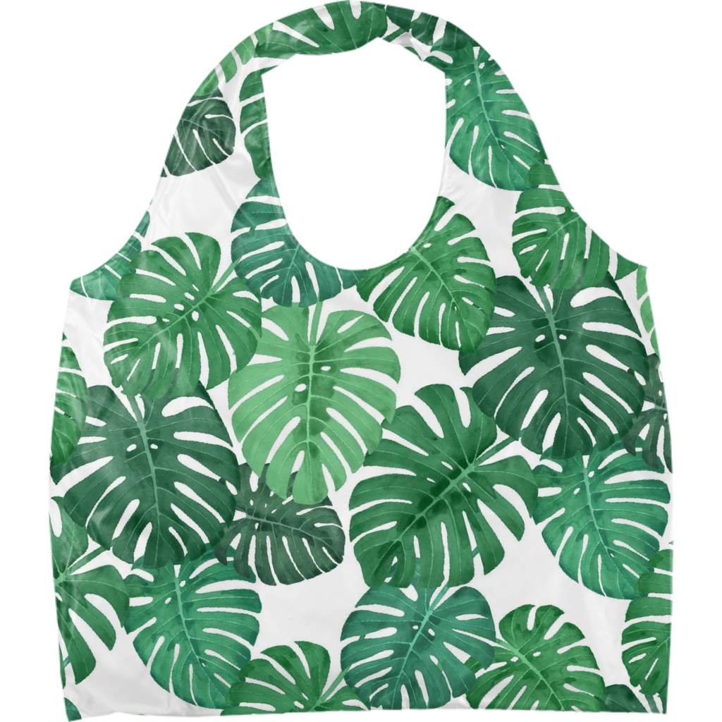 Monstera Jungle Eco Tote by Frank-Joseph