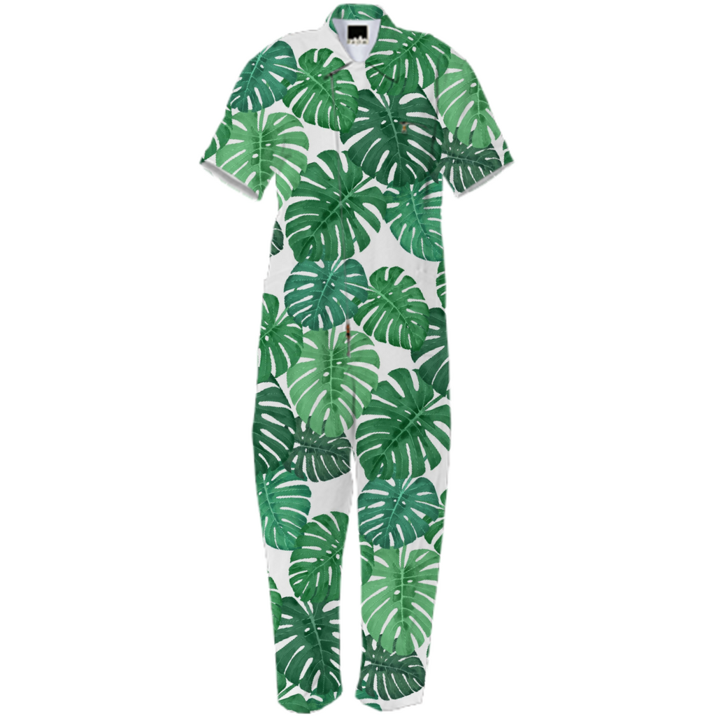 Monstera Jungle Jumpsuit by Frank-Joseph