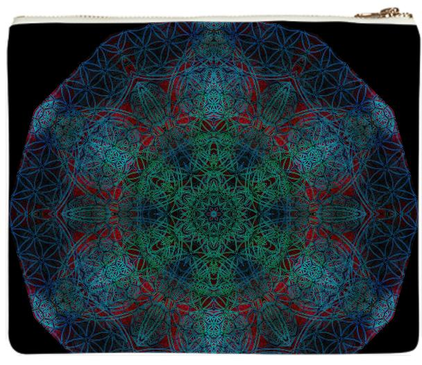 Flower of Life Hexagon Mandala