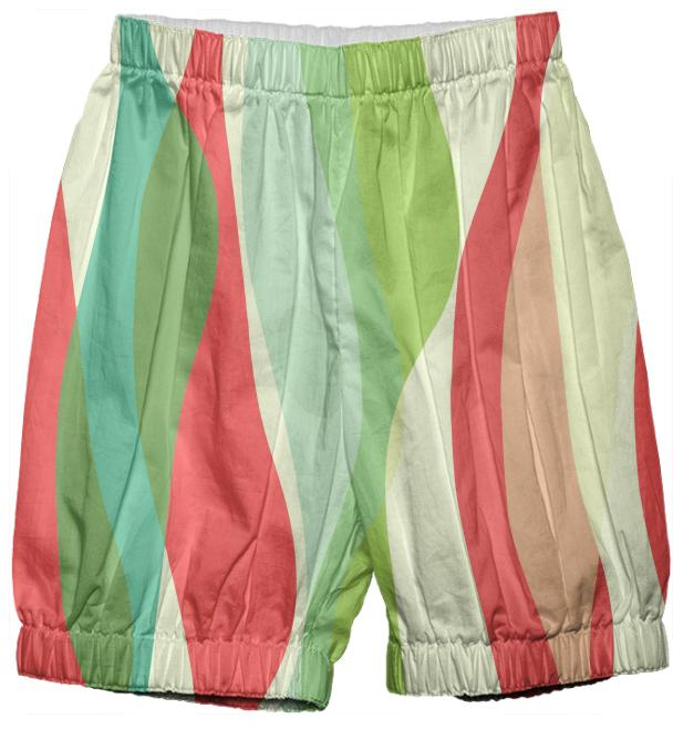 Red n Green Mod Bloomers