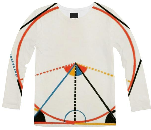 Euclid geometry long sleeve shirt