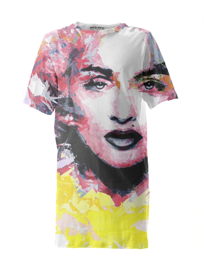 Abstract Pop Art Madonna