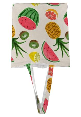 Urban Annex Fruit Pattern Tote Bag