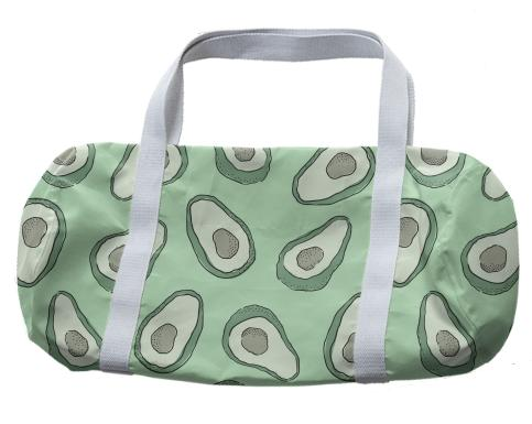 Green Avocado Duffle Bag