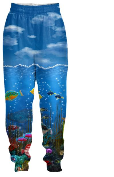 Underwater Love Tracksuit pants