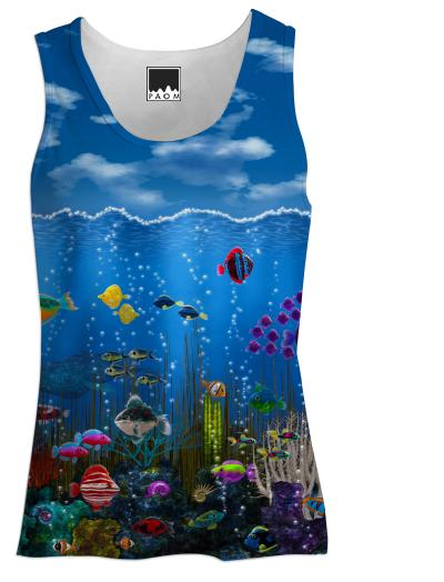 Underwater Love Women s Tank Top