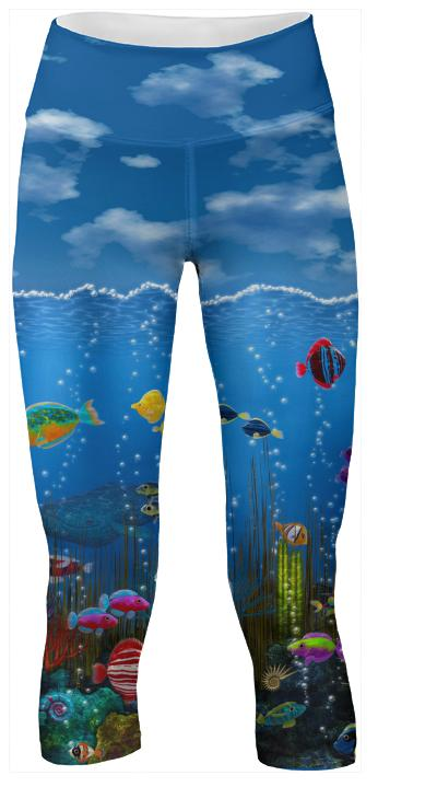 Underwater Love Yoga Pants