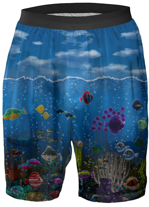Underwater Love Boxer Shorts