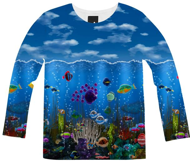Underwater Love Long Sleeve Shirt