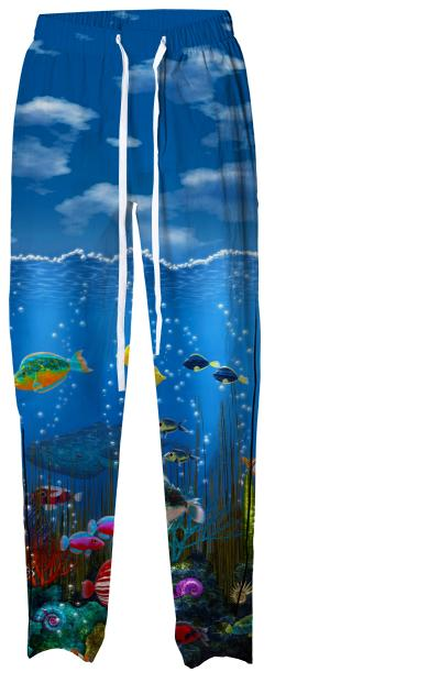 Underwater Love Pajama Pants