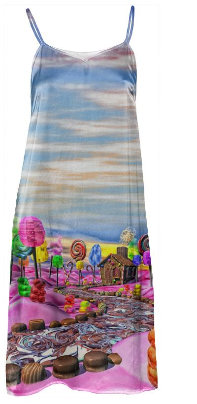 Pink Candyland Slip Dress