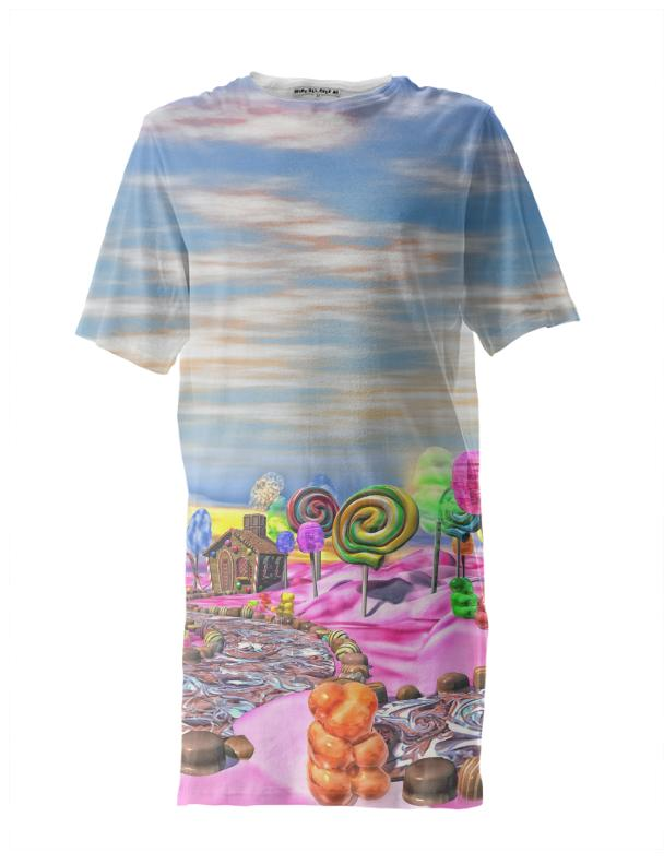 Pink Candyland Tall Tee