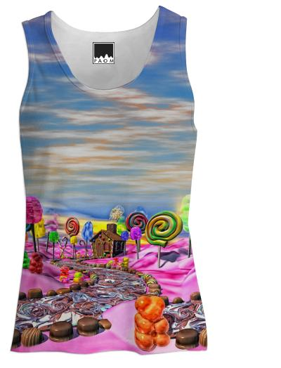 Pink Candyland Tank Top Women