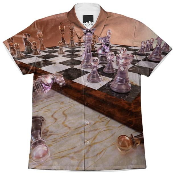 A Game of Chess Short Sleeve Workshirt