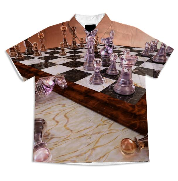 A Game of Chess Short Sleeve Blouse