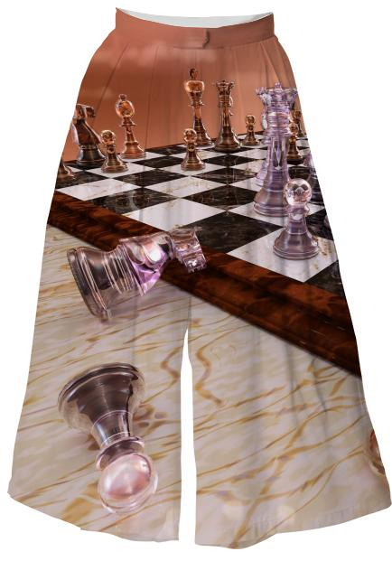 A Game of Chess Culottes