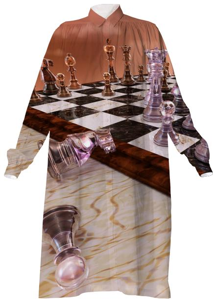 A Game of Chess Shirtdress