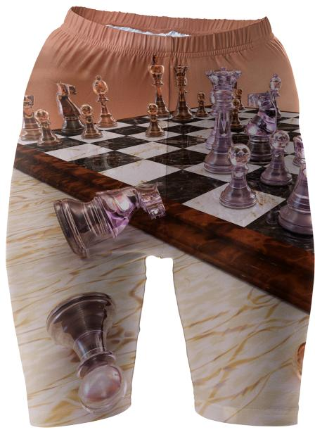 A Game of Chess Bike Shorts