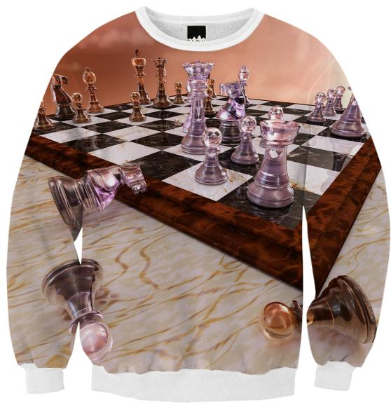 A Game of Chess Ribbed Sweatshirt