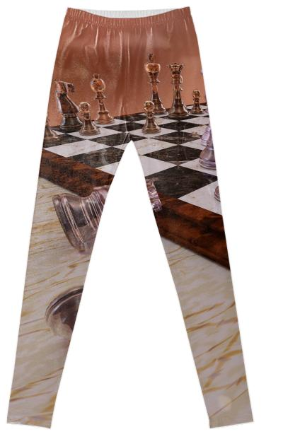 A Game of Chess Fancy Leggings