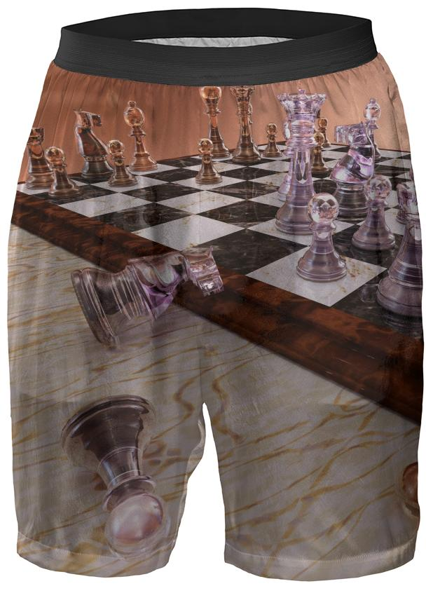 A Game of Chess Boxer Shorts