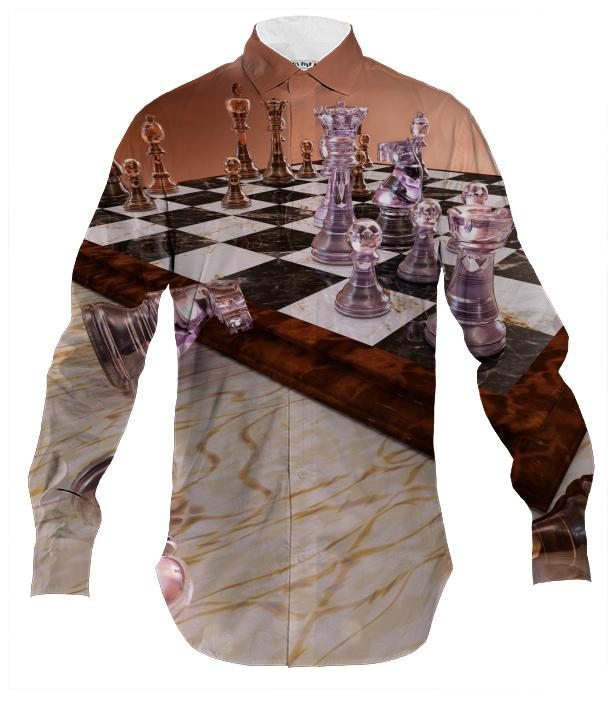 A Game of Chess Men s Button Down
