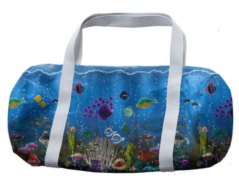 Underwater Love Duffle Bag