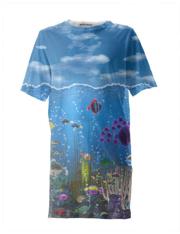 Underwater Love Tall Tee