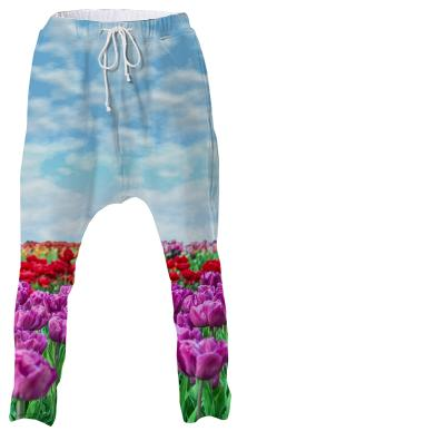 Tulip Field Drop Pants
