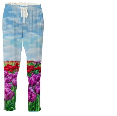 Tulip Field Drawstring Pants