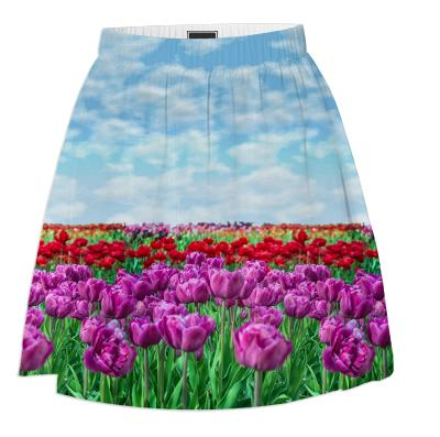 Tulip Field Summer Skirt