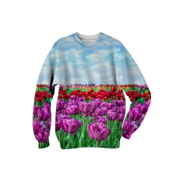 Tulip Field Sweatshirt
