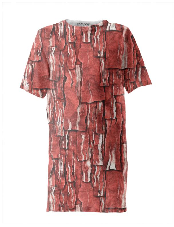 Got Meat Overlapping bacon pieces Tall Tee