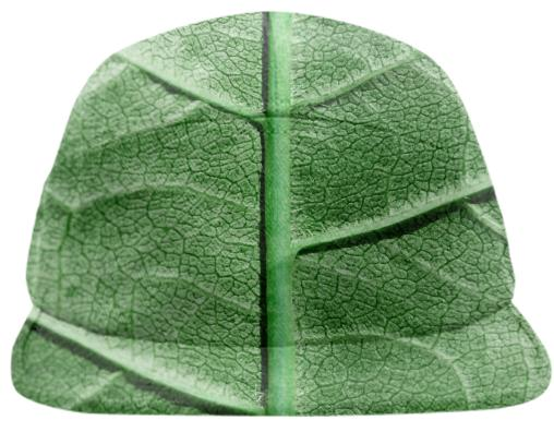 Veined Green Leaf Baseball Hat