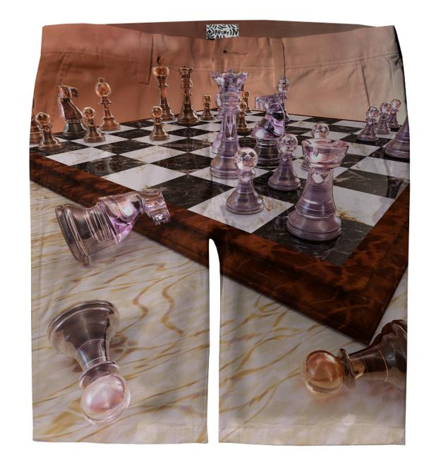 A Game of Chess Trouser Shorts